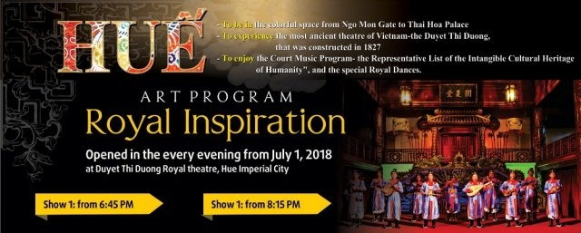 Hue Citadel to host nightly royal music shows, entertainment events, entertainment news, entertainment activities, what's on, Vietnam culture, Vietnam tradition, vn news, Vietnam beauty, news Vietnam, Vietnam news, Vietnam net news, vietnamnet news, vietn