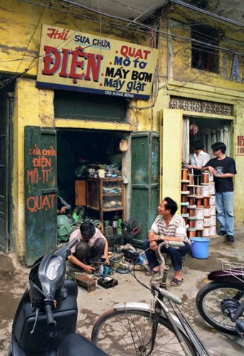 US photographer documents Hanoi through the years