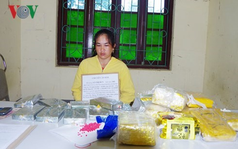 Large quantities of drugs seized in Dien Bien, Nghe An, social news, vietnamnet bridge, english news, Vietnam news, news Vietnam, vietnamnet news, Vietnam net news, Vietnam latest news, vn news, Vietnam breaking news