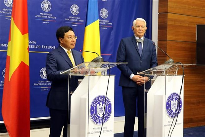 Deputy Prime Minister Pham Binh Minh visits Romania, Government news, Vietnam breaking news, politic news, vietnamnet bridge, english news, Vietnam news, news Vietnam, vietnamnet news, Vietnam net news, Vietnam latest news, vn news