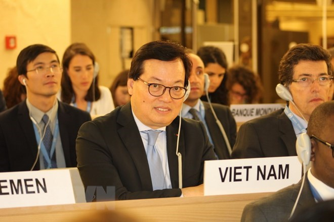 Vietnam active in discussions at UNHRC's 38th session, Government news, Vietnam breaking news, politic news, vietnamnet bridge, english news, Vietnam news, news Vietnam, vietnamnet news, Vietnam net news, Vietnam latest news, vn news