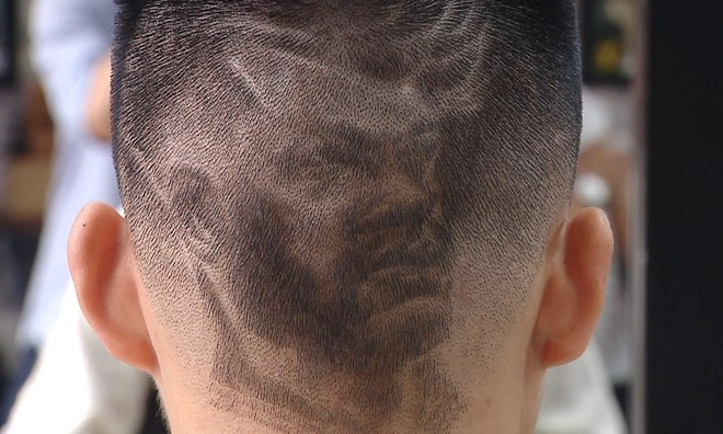 Vietnamese fans enjoy World Cup with special haircuts, Sports news, football, Vietnam sports, vietnamnet bridge, english news, Vietnam news, news Vietnam, vietnamnet news, Vietnam net news, Vietnam latest news, vn news, Vietnam breaking news