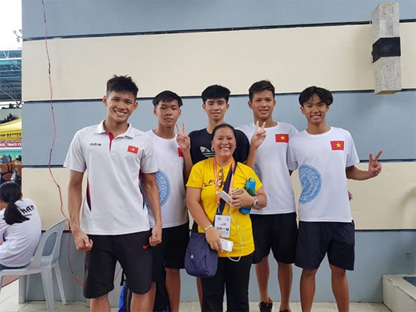 SEA Age Group Swimming Championships, Vietnamese swimming team, Vietnam economy, Vietnamnet bridge, English news about Vietnam, Vietnam news, news about Vietnam, English news, Vietnamnet news, latest news on Vietnam, Vietnam