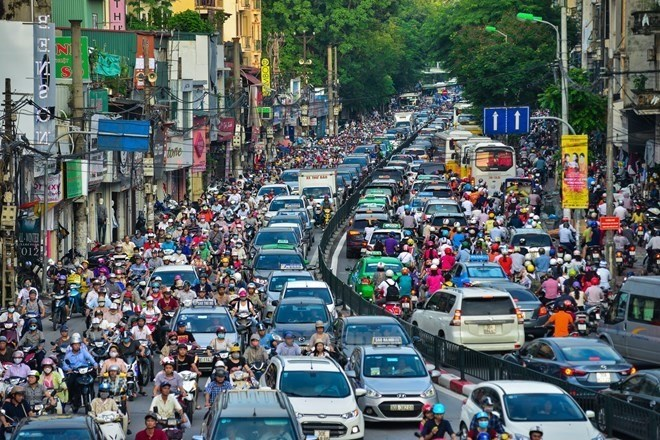 Hanoi air quality sees positive signs in July, Vietnam environment, climate change in Vietnam, Vietnam weather, Vietnam climate, pollution in Vietnam, environmental news, sci-tech news, vietnamnet bridge, english news, Vietnam news, news Vietnam, vietnamn