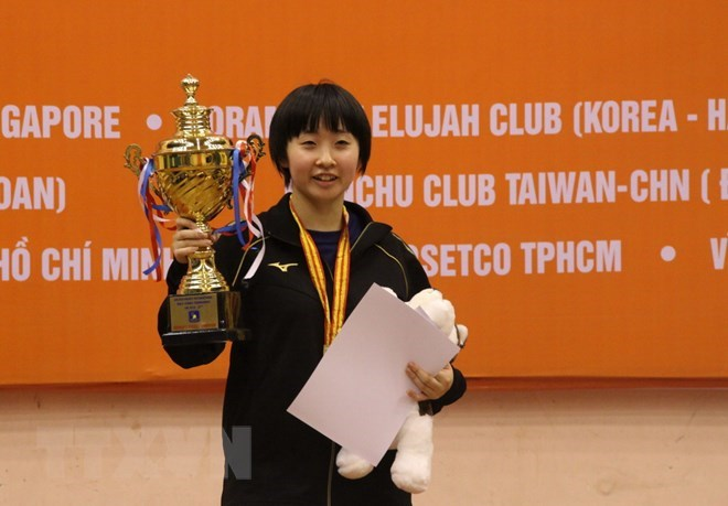 Japan triumphs at int'l table tennis tourney in HCM City, Sports news, football, Vietnam sports, vietnamnet bridge, english news, Vietnam news, news Vietnam, vietnamnet news, Vietnam net news, Vietnam latest news, vn news, Vietnam breaking news