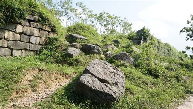 Ancient citadel in Thanh Hoa province faces erosion, entertainment events, entertainment news, entertainment activities, what's on, Vietnam culture, Vietnam tradition, vn news, Vietnam beauty, news Vietnam, Vietnam news, Vietnam net news, vietnamnet news,