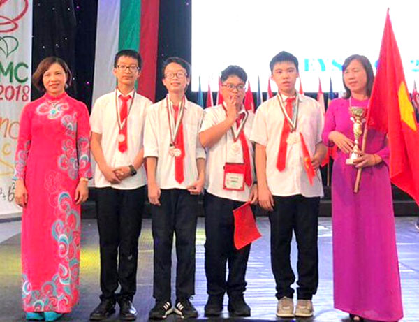 Int'l math competition, Vietnamese students win big, Vietnam economy, Vietnamnet bridge, English news about Vietnam, Vietnam news, news about Vietnam, English news, Vietnamnet news, latest news on Vietnam, Vietnam