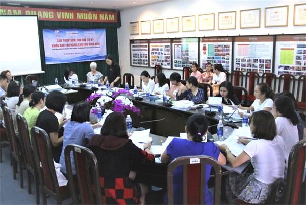 Autistic children, early intervention, Vietnam economy, Vietnamnet bridge, English news about Vietnam, Vietnam news, news about Vietnam, English news, Vietnamnet news, latest news on Vietnam, Vietnam