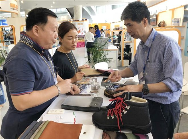 Shoes & Leather Vietnam expos features 700 exhibitors, vietnam economy, business news, vn news, vietnamnet bridge, english news, Vietnam news, news Vietnam, vietnamnet news, vn news, Vietnam net news, Vietnam latest news, Vietnam breaking news