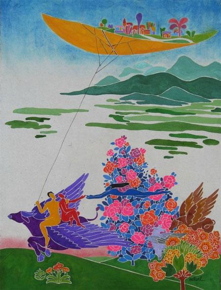 Wonderland paintings, young artist, Vietnam economy, Vietnamnet bridge, English news about Vietnam, Vietnam news, news about Vietnam, English news, Vietnamnet news, latest news on Vietnam, Vietnam