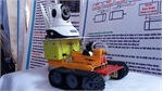 Students make remotely controlled firefighting robot