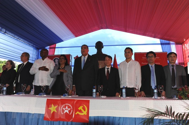 Dominican people honour late President Ho Chi Minh, Deputy PM calls for resources for 'One Commune, One Product' programme