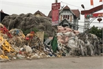The 'billionaires' waste recycling village is seriously polluted