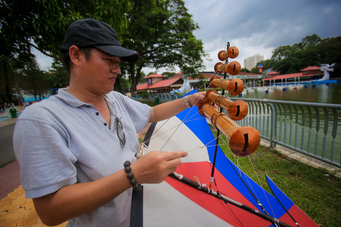 Kite festival in HCM City this month, entertainment events, entertainment news, entertainment activities, what's on, Vietnam culture, Vietnam tradition, vn news, Vietnam beauty, news Vietnam, Vietnam news, Vietnam net news, vietnamnet news, vietnamnet