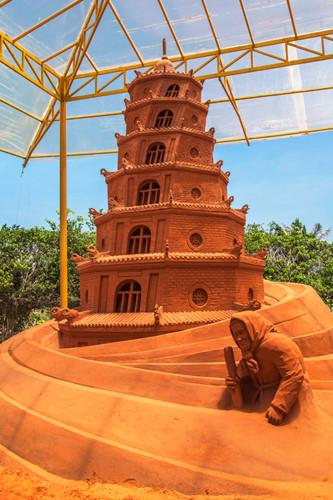Vietnam's first sand sculpture park opens in Phan Thiet, entertainment events, entertainment news, entertainment activities, what's on, Vietnam culture, Vietnam tradition, vn news, Vietnam beauty, news Vietnam, Vietnam news, Vietnam net news, vietnamnet n