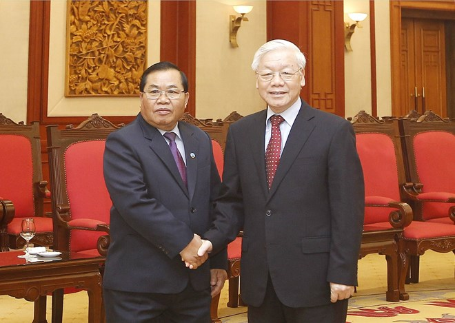 Vietnam's top legislator hosts Lao NA Vice Chairman, Government news, Vietnam breaking news, politic news, vietnamnet bridge, english news, Vietnam news, news Vietnam, vietnamnet news, Vietnam net news, Vietnam latest news, vn news