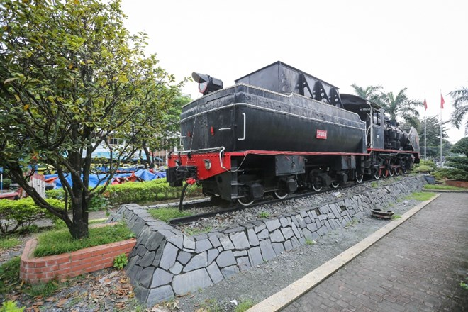 Old locomotive set for display at Hanoi Museum, entertainment events, entertainment news, entertainment activities, what's on, Vietnam culture, Vietnam tradition, vn news, Vietnam beauty, news Vietnam, Vietnam news, Vietnam net news, vietnamnet news, viet
