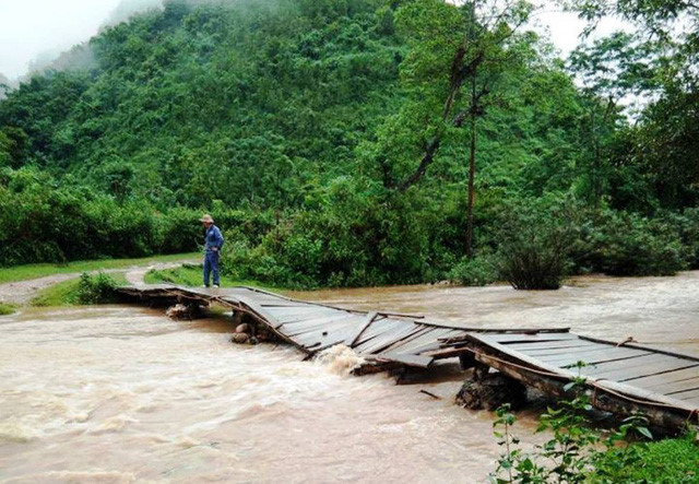 Nghe An confronts severe flood and landslides, social news, vietnamnet bridge, english news, Vietnam news, news Vietnam, vietnamnet news, Vietnam net news, Vietnam latest news, vn news, Vietnam breaking news