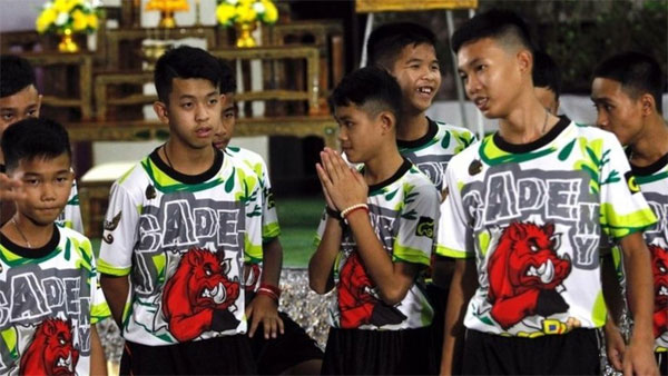 Thai cave rescue boys relive 'moment of miracle'