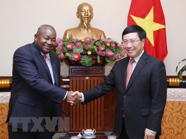 HCM City, JICA to meet quarterly to speed up projects, PM looks to maintain high-level visits between Vietnam, Laos, Second ASEAN-India workshop on blue economy held, Deputy PM Pham Binh Minh welcomes new Mozambican ambassador