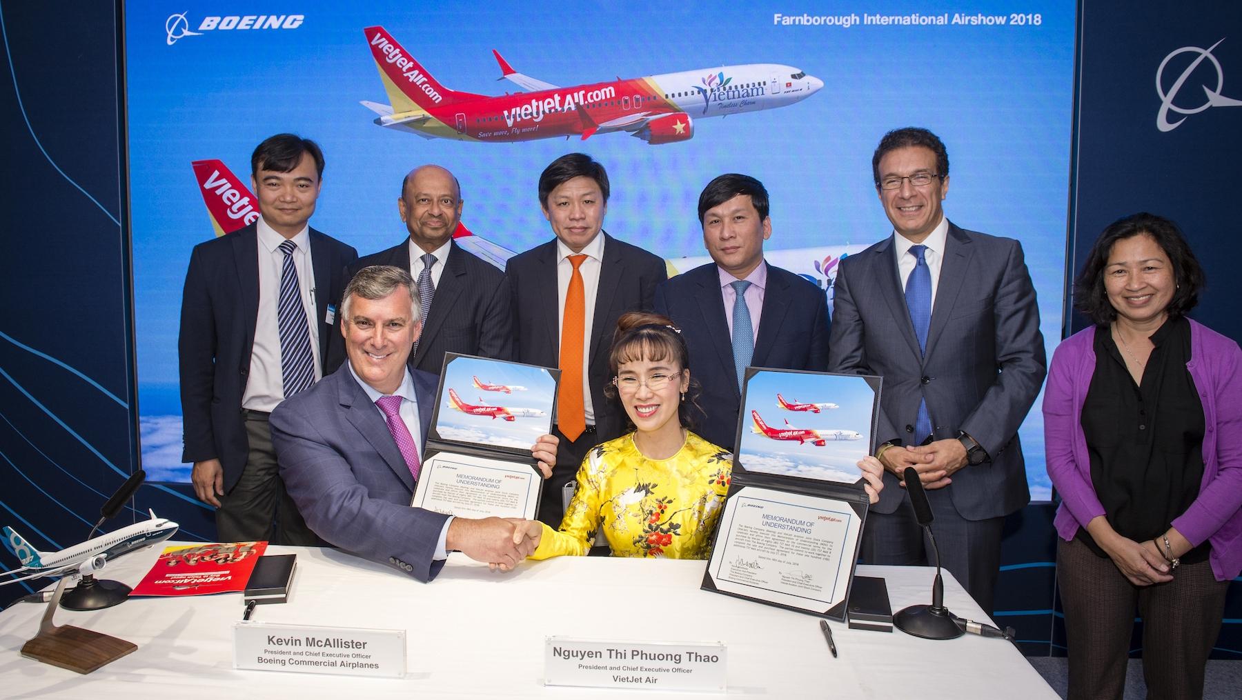 Vietjet buys 100 new Boeing aircraft, vietnam economy, business news, vn news, vietnamnet bridge, english news, Vietnam news, news Vietnam, vietnamnet news, vn news, Vietnam net news, Vietnam latest news, Vietnam breaking news