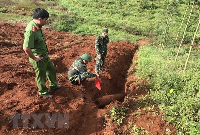 Dak Nong: 227kg bomb deactivated, social news, vietnamnet bridge, english news, Vietnam news, news Vietnam, vietnamnet news, Vietnam net news, Vietnam latest news, vn news, Vietnam breaking news