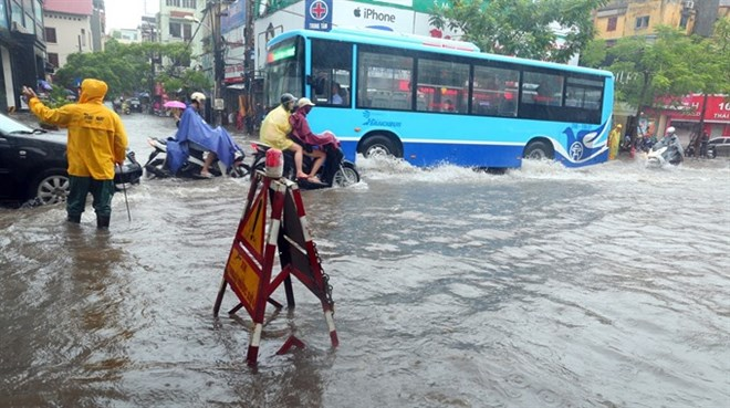 Downpours, flooding wreak havoc in northern Vietnam, social news, vietnamnet bridge, english news, Vietnam news, news Vietnam, vietnamnet news, Vietnam net news, Vietnam latest news, vn news, Vietnam breaking news