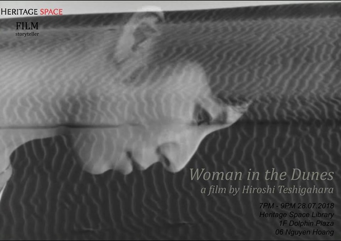 """""""Woman in the Dunes"""" to be screened at Hanoi's Heritage Space, entertainment events, entertainment news, entertainment activities, what's on, Vietnam culture, Vietnam tradition, vn news, Vietnam beauty, news Vietnam, Vietnam news, Vietnam net news, vietna"""