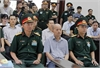 Former senior lieutenant colonel tried for abusing position, power