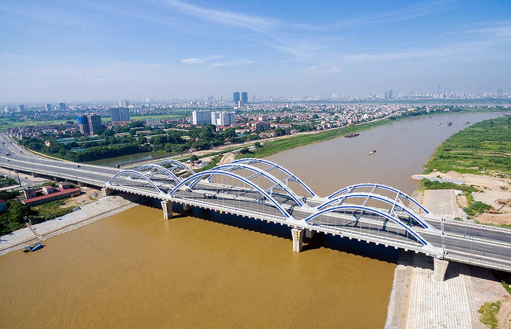 New look for Hanoi 10 years after expansion, social news, vietnamnet bridge, english news, Vietnam news, news Vietnam, vietnamnet news, Vietnam net news, Vietnam latest news, vn news, Vietnam breaking news