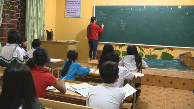 Education efforts paid off in mountainous district, Vietnam education, Vietnam higher education, Vietnam vocational training, Vietnam students, Vietnam children, Vietnam education reform, vietnamnet bridge, english news, Vietnam news, news Vietnam, vietna