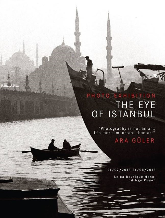The Eye of Istanbul seen through lens of Ara Guler, entertainment events, entertainment news, entertainment activities, what's on, Vietnam culture, Vietnam tradition, vn news, Vietnam beauty, news Vietnam, Vietnam news, Vietnam net news, vietnamnet news,