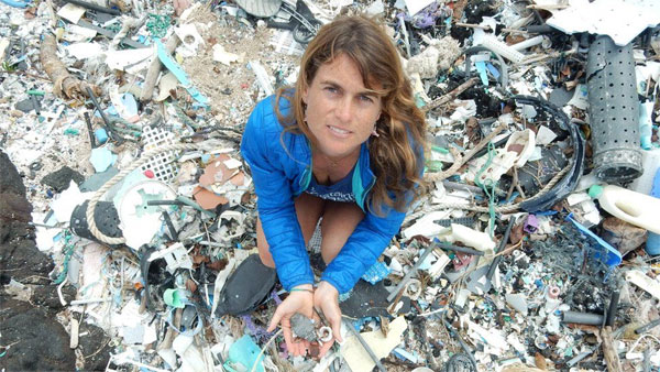 Plastic pollution: How one woman found a new source of warming gases hidden in waste