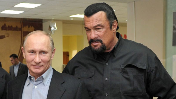 Actor Steven Seagal, special US-Russia envoy