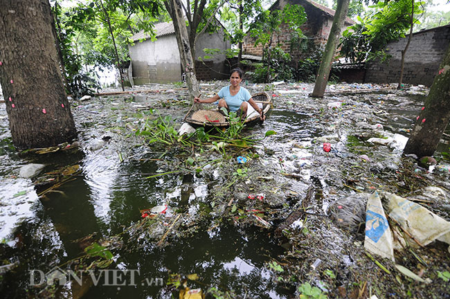 Residents in Hanoi's flooded areas receive donations