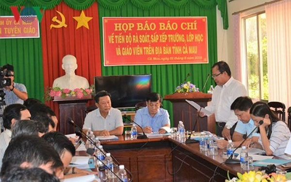No mass firing of teachers in Mekong province