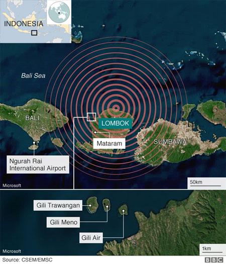 Lombok quake, rescuers, search survivors, homeless