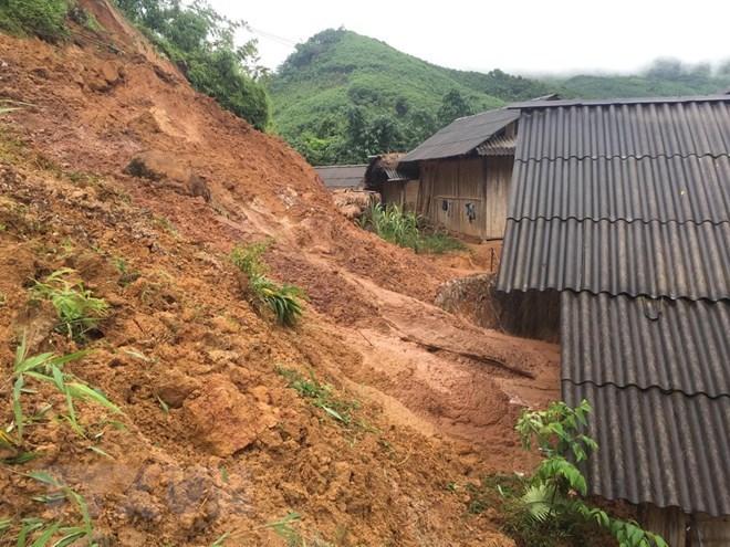 Yen Bai: Nearly 40 houses damaged due to heavy rains, social news, vietnamnet bridge, english news, Vietnam news, news Vietnam, vietnamnet news, Vietnam net news, Vietnam latest news, vn news, Vietnam breaking news