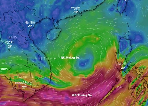 East Sea low pressure system concerns forecasters, social news, vietnamnet bridge, english news, Vietnam news, news Vietnam, vietnamnet news, Vietnam net news, Vietnam latest news, vn news, Vietnam breaking news