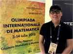 Vietnamese-Romanian doctoral student member of jury for int'l math competition