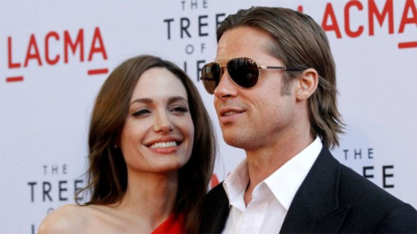 Brad Pitt, hit back, Angelina Jolie's child support claims