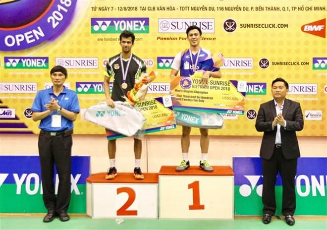 Vietnam Open Badminton Champs wraps up