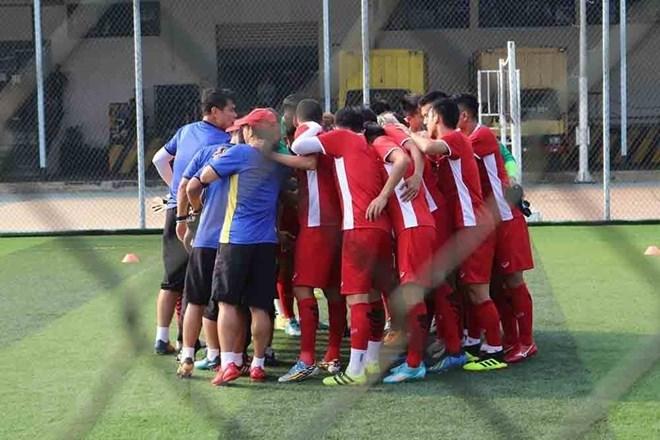 Vietnam's U23 football team ready to play Pakistan at ASIAD 2018, Sports news, football, Vietnam sports, vietnamnet bridge, english news, Vietnam news, news Vietnam, vietnamnet news, Vietnam net news, Vietnam latest news, vn news, Vietnam breaking news