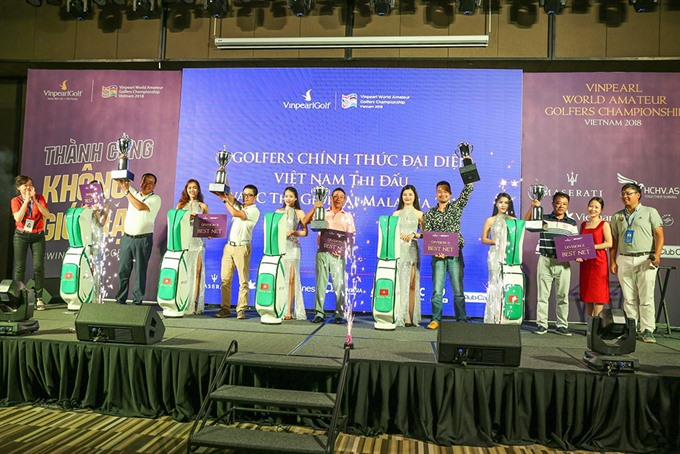 Five Vietnamese golfers to join WAGC final