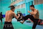 Pencak silat martial artists kicking high for the top spots at Asian Games
