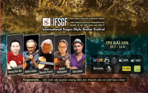 Fourth Int'l FingerStyle Guitar Festival set for Aug 25 in Vietnam