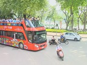 Hanoi tour bus costs less, offers more