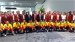 ASIAD 18: Vietnamese delegation receives warm welcome from host Indonesia
