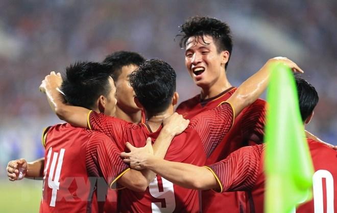 ASIAD 18: Vietnam defeat Pakistan 3-0 in men's football, Sports news, football, Vietnam sports, vietnamnet bridge, english news, Vietnam news, news Vietnam, vietnamnet news, Vietnam net news, Vietnam latest news, vn news, Vietnam breaking news