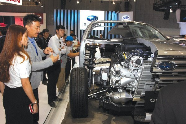 Billions of dollars worth of car parts exported but not from Vietnamese manufacturers